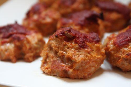 Baked Chicken Meatballs | Yummy | Pinterest