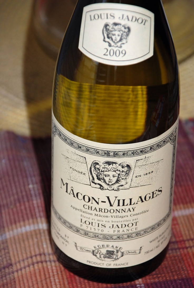 Louis Jadot Macon Villages - great value French chardonnay
