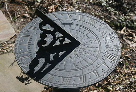 Today, 13 June, is one of only four days in the year when the time as read on a sundial will be exactly correct. Sundials usually tell the time using the shadow of the gnomon as cast by the Sun. Th...