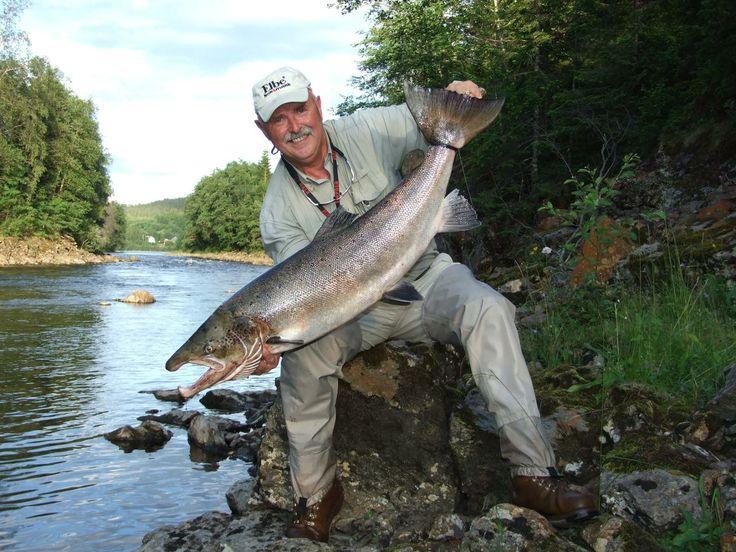 Salmonfishing, Meraker, Norway. www.inatur.no/laksefiske/51010c6be4b0063a4fc5c855/laksefiske-i-meraker | Inatur.no