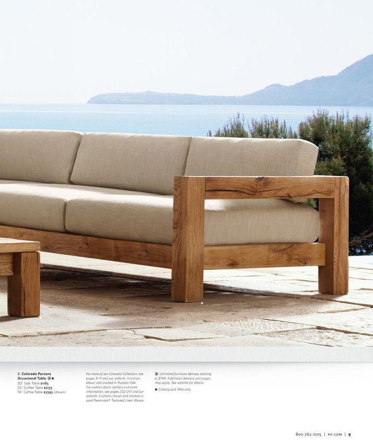 Diy Outdoor Furniture, Restoration Hardware Inspired Patio Furniture