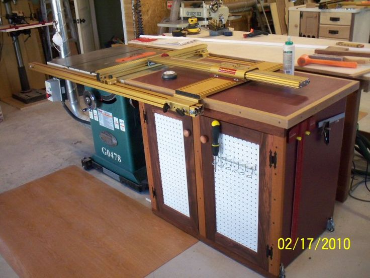Table Saw Extension Cabinet Reader 39 S Gallery Fine Woodworking Sawing Pinterest Fine