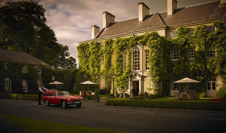 The beautiful Mount Juliet Georgian Manor House built for Lady Juliana, known to her friends as Juliet. Now operating as a luxury hotel Mount Juliet House is a wonderful place to stay and enjoy, with the Michelin Star 'Lady Helen' restaurant situated here also.