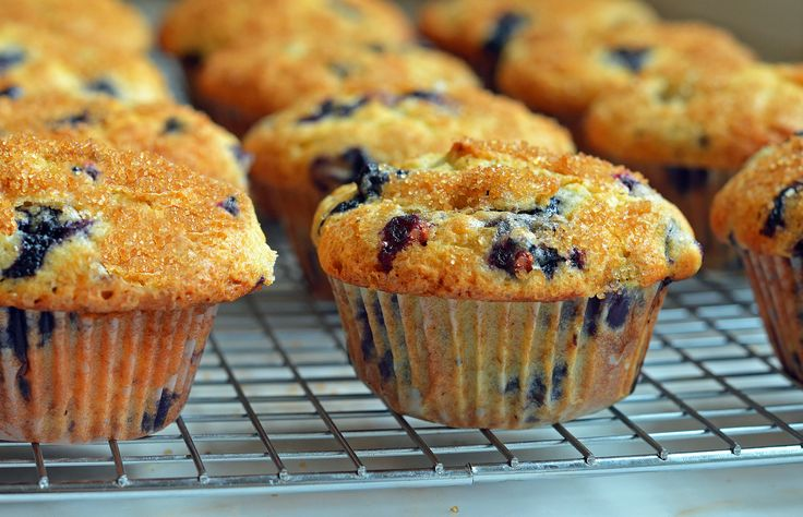 """Best Blueberry Muffins"" - from Once Upon a Chef blog - for mini muffins, check for doneness at 12-15 min. (Optional: add a zest of a lemon)"