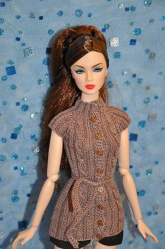 Jaket for doll