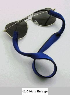 Blue Stretch Sunglass Cord