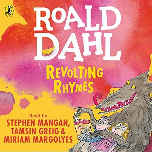 "Another must-listen from my #AudibleApp: ""Revolting Rhymes"" by Roald Dahl, narrated by Tamsin Greig."