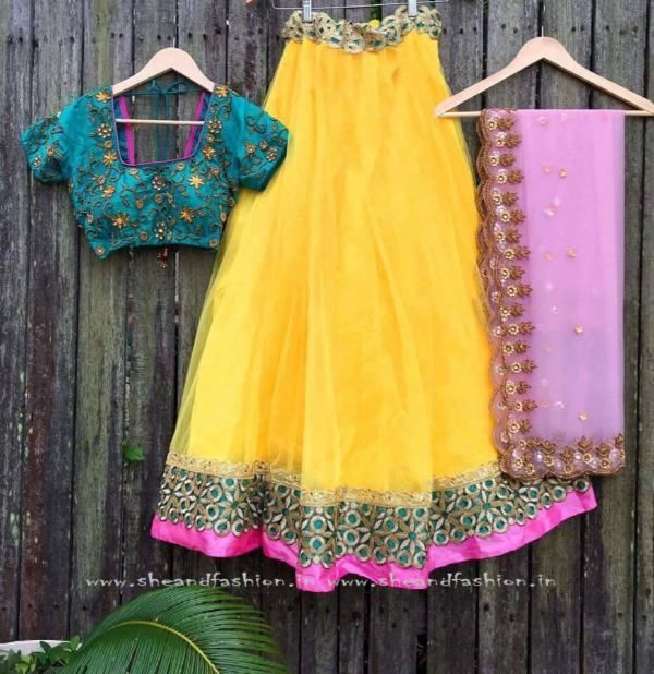 Bridal Lehenga Half Saree Collections