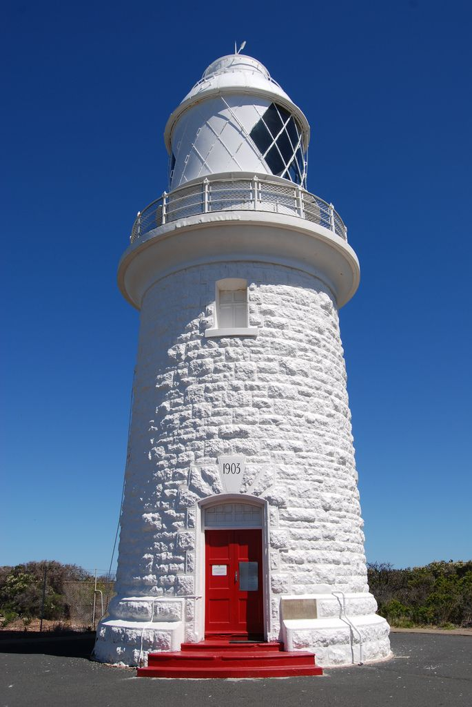 Lighthouse    The lighthouse at Cape Naturaliste, Western Australia. #lighthouse