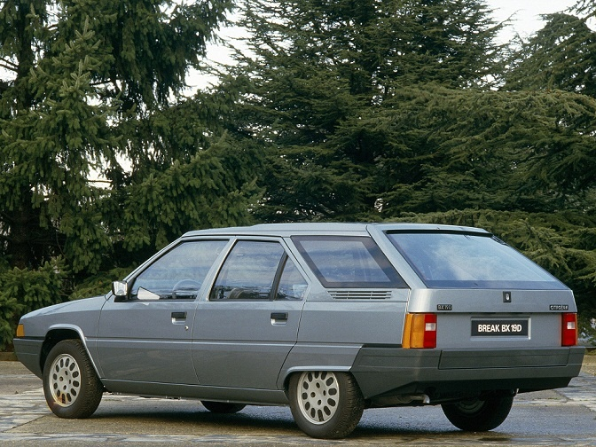 Citroën BX Break (1985 - 1986).
