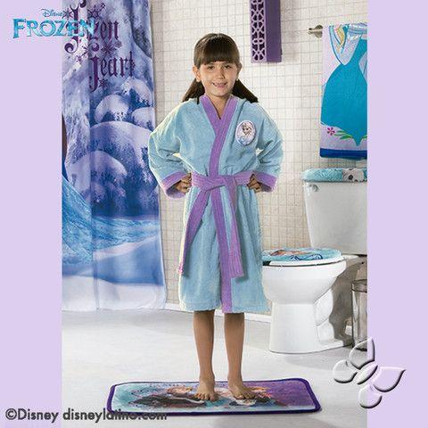 Para tu princesa la bata de Baño de Frozen. Con licencia exclusiva de DISNEY para los Estados Unidos de Intima Hogar - Lider en Ventas por Catálogo