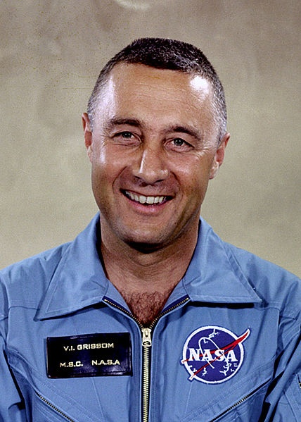 Virgil Ivan Grissom (1926–1967), better known as Gus Grissom, was one of the original NASA Project Mercury astronauts and a United States Air Force pilot. He was the second American to fly in space, and the first member of the NASA Astronaut Corps to fly in space twice. Grissom was killed along with fellow astronauts Ed White and Roger Chaffee during a pre-launch test for the Apollo 1 mission at Cape Canaveral Air Force Station (then known as Cape Kennedy), Florida.