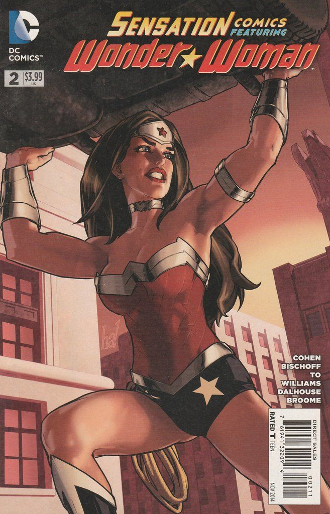 Sensation Comics: Featuring Wonder Woman # 2 DC Comics Vol. 3