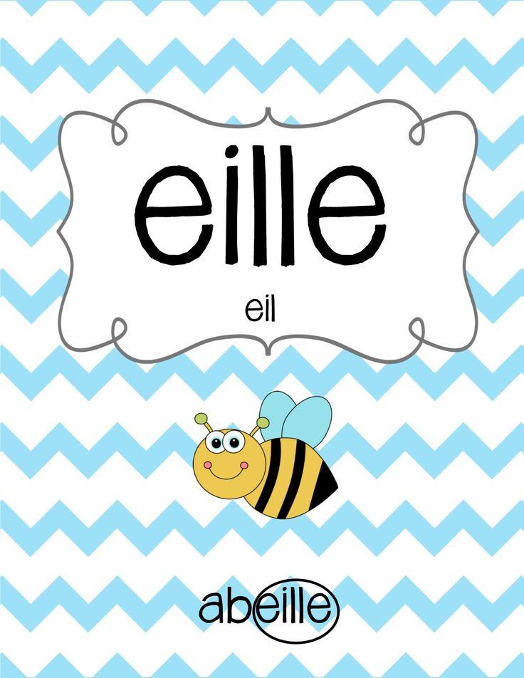 Affiches en français - les sons, l'alphabet, les numerous et encore plus!
