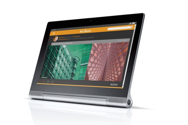 Yoga Tablet 2 Pro: Το νέο tablet της Lenovo διαθέτει ενσωματωμένο βιντεοπροβολέα