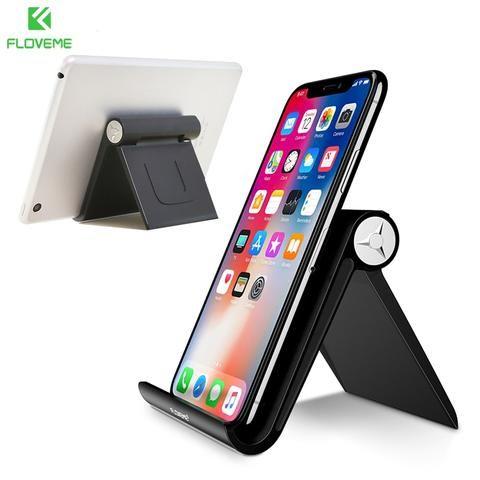 floveme universal mobile phone holder stand desk for iphone x 7 rh pinterest com