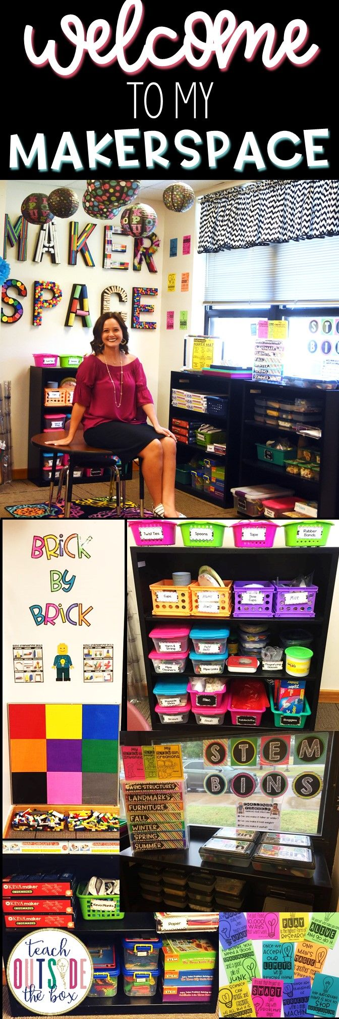 An up close tour of my elementary Makerspace! We love this classroom Makerspace!