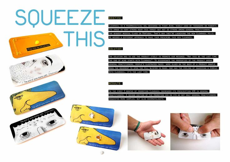 Clearasil: Squeeze