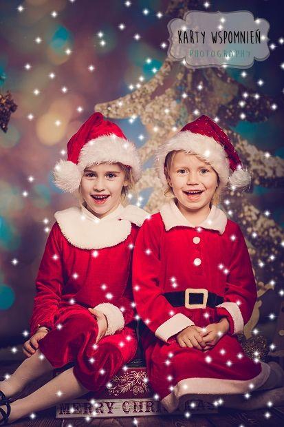 zdjęcia świąteczne dizeci