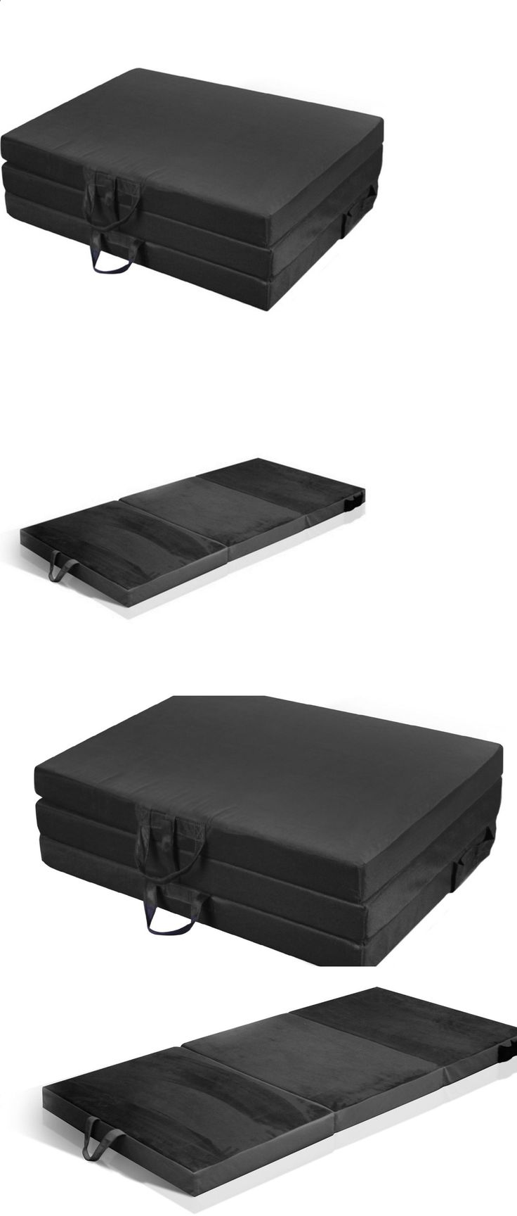 Camping Sleeping Pad - Mattresses and Pads 36114: Sleeping Pads For Camping Folding Futon Mattress Pad Twin Foam Backpacking Bed -> BUY IT NOW ONLY: $94.75 on eBay!