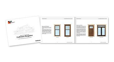 Craftsman bungalow home style pattern book