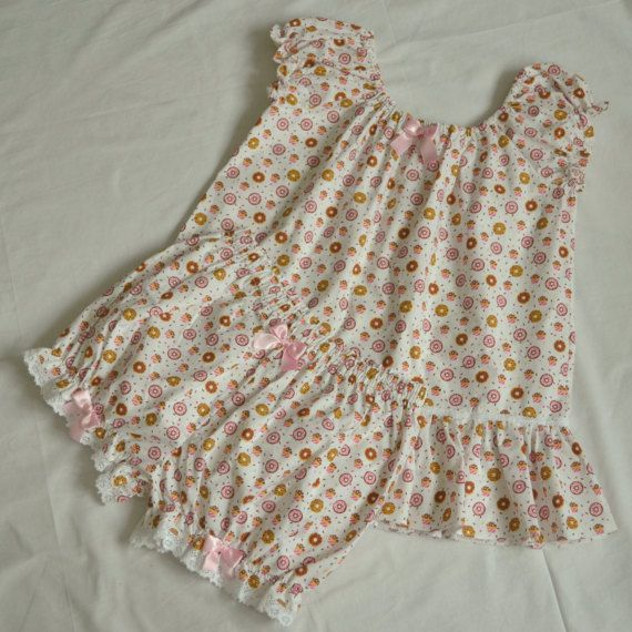 Cute Lolita Boudoir Sleepwear  Pajama for by MadameMuffinStore