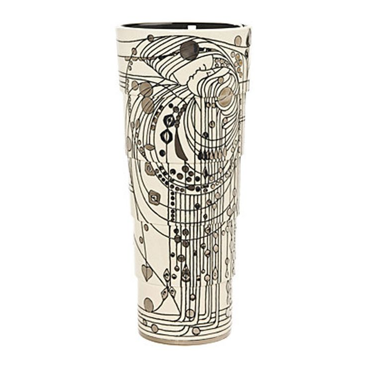 Sally Tuffin,Dennis Chinaworks,Pottery,vase,Tribute,Margaret Mackintosh – UK Art Pottery