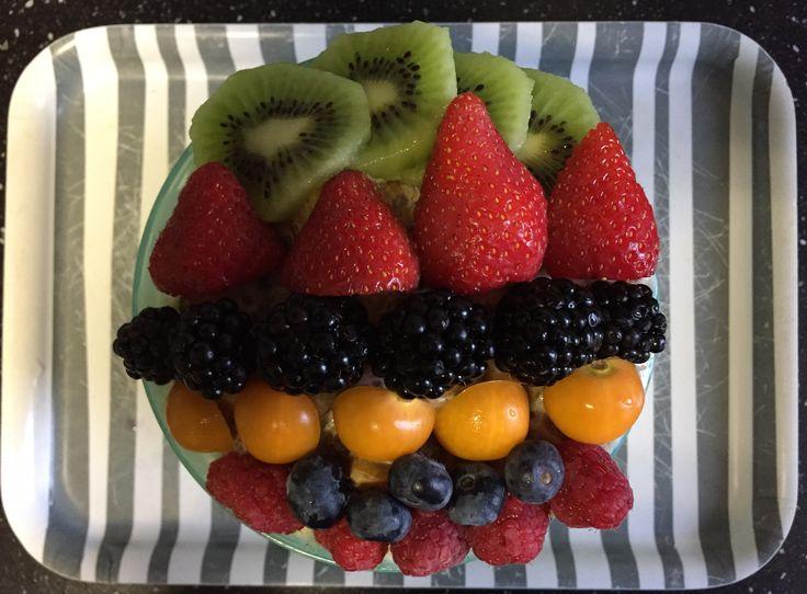 All-bran plus / chai / lijnzaad / walnoten / pompoen / fruit breakfast