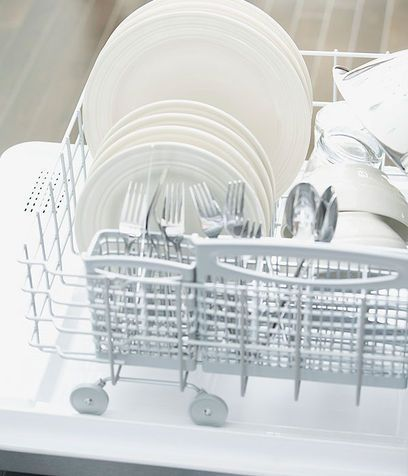 Per la lavastoviglie: brillantante