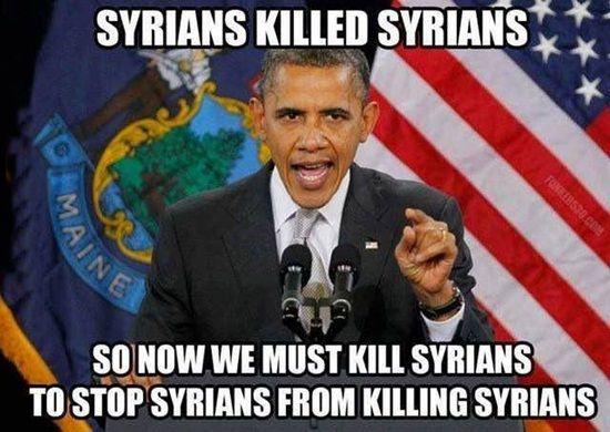 Syrians killed syrians