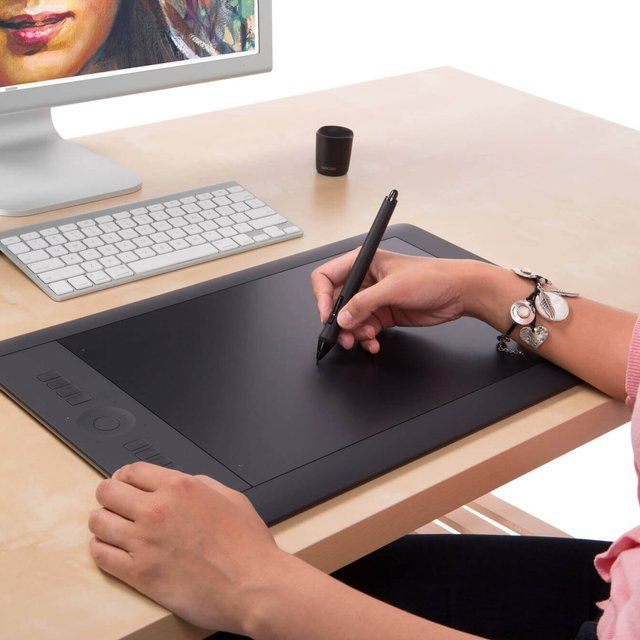 Wacom Intuos Pro Pen and Touch Tablet