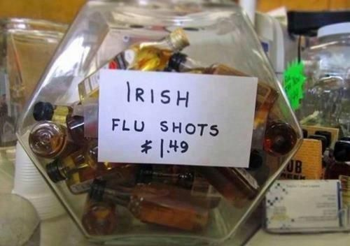 Meanwhile in Canada... Irish flu shots