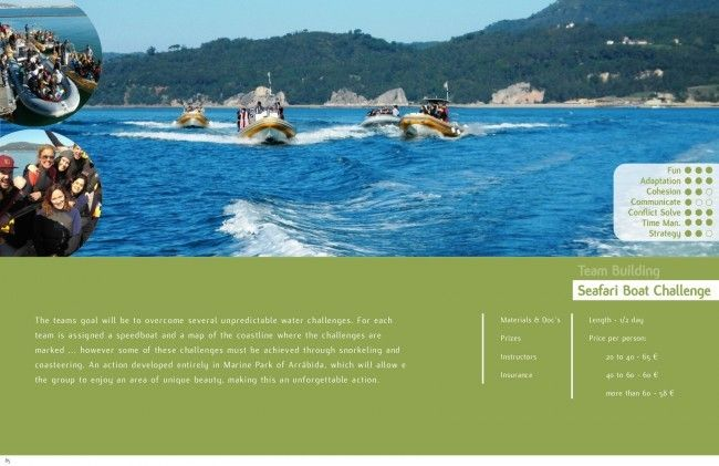 Team building Seafari boat challenge, Arrabida, Lisbon - Go Discover Portugal travel