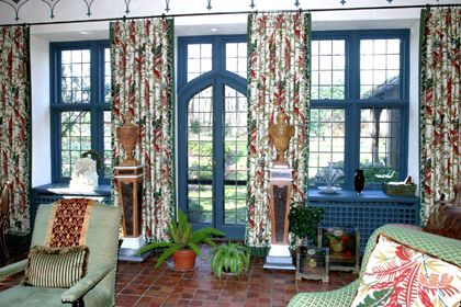 Arts & Crafts style with English country manor house.