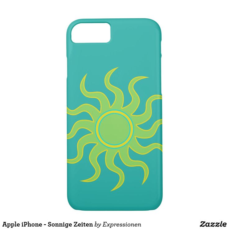 Apple iPhone - Sonnige Zeiten #smartphone #cover #cases #iphone #handy #handyhuelle