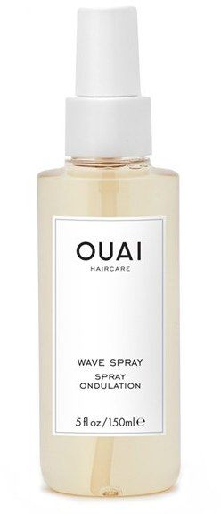 This weightless, textured mist by OUAI gives you effortlessly chic, undone hair. OUAI Wave Spray