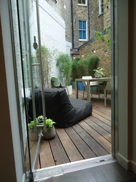 Islington, London | Living Space and Partners #Zoe #outdoor www.verzelloni.it