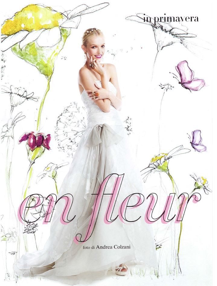 On @voguesposait: gioco di sovrapposizioni per la gonna dell'abito! #voguesposa #ElisabettaPolignano #weddingdres #EPsposa2016