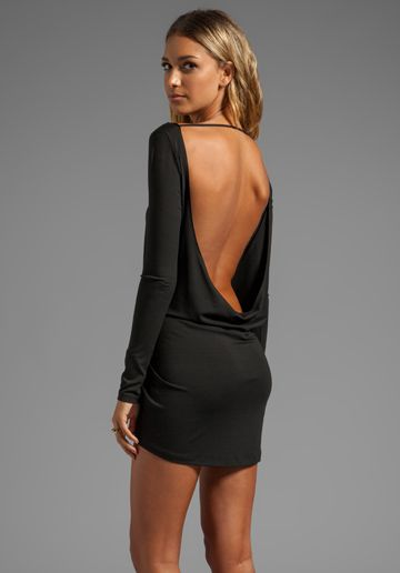 BOULEE Tatiana Dress in Black