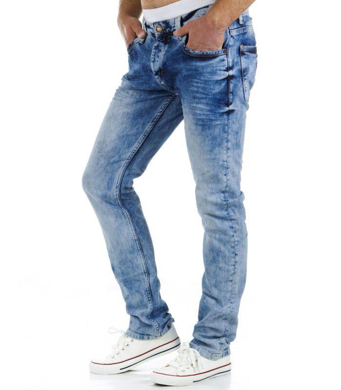 Pánske modré džínsy