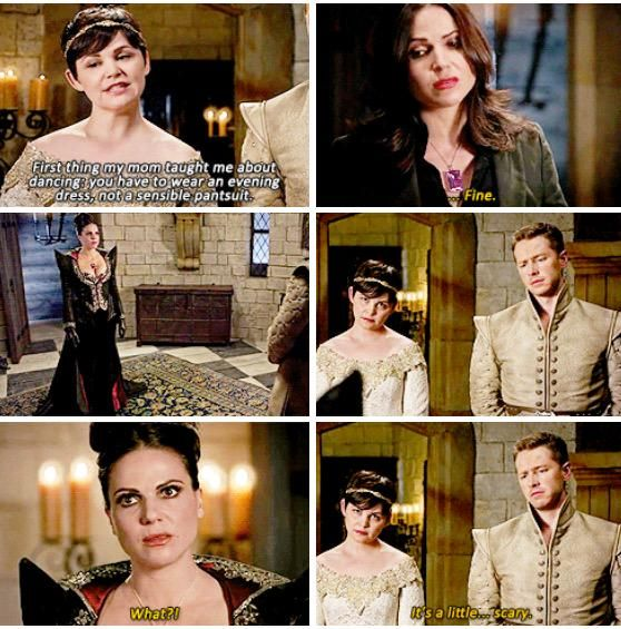 """Once Upon A Time 5x02 """"The Price"""" Poor Regina doesn't even realize what is wrong with the Evil Queen look!!"""