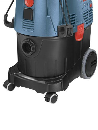 Bosch VAC090S 9 Gallon Dust Extractor | Auto filter cleaning every 15 seconds for the ultimate hygiene and no loss of suction | L-boxx compatibility |