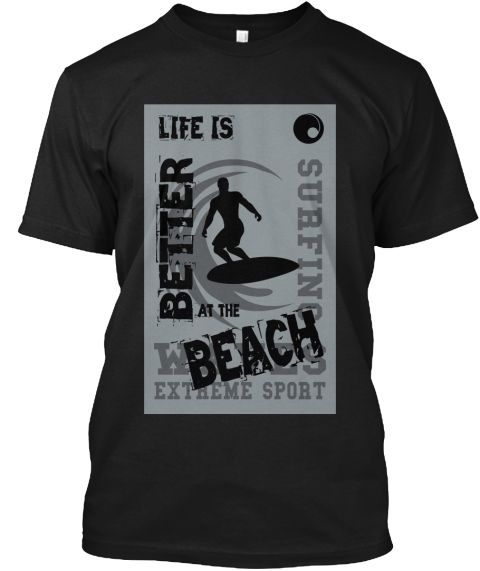 """Life is Better at the Beach""  Tag Someone Who Would Love This Shirt :) Thanks.. https://teespring.com/life-better-at-the-beach"