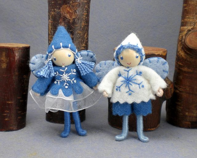 winter bendy dolls