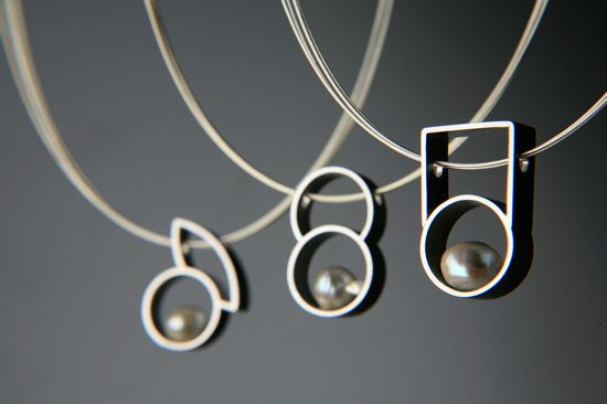 Necklace - Pearl + Silver ~ Mayumi Matsuyama (2007)