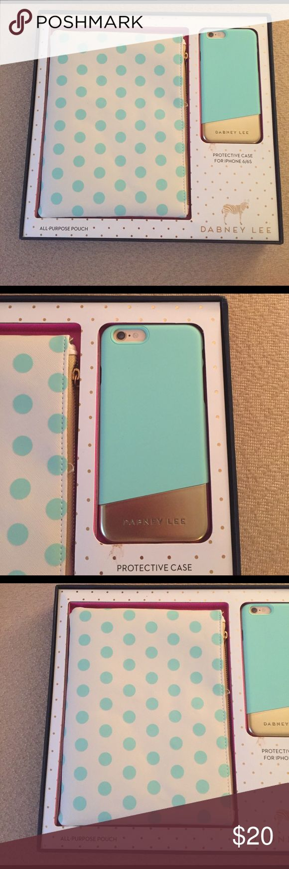 Phone case package Includes iPhone 6/6s phone case and all-purchase matching pouch Dabney Lee Dabney Lee Accessories Phone Cases