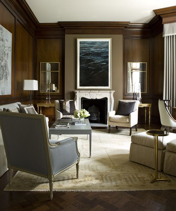 robert brown interior design | stunning brown living room