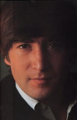 John Lennon looking especially handsome.
