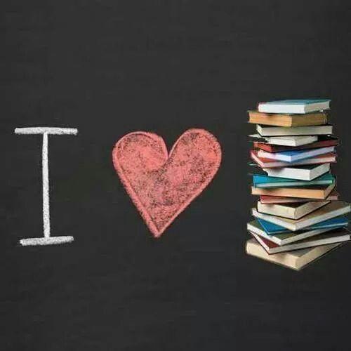 Eu amo livros!