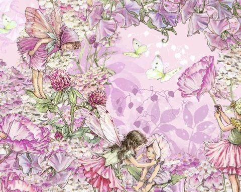 Petal Flower Fairies Cotton